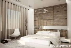 اتاق خواب مستر با طراحی زیبا
