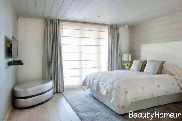 چیدمان مدرن اتاق خواب مستر