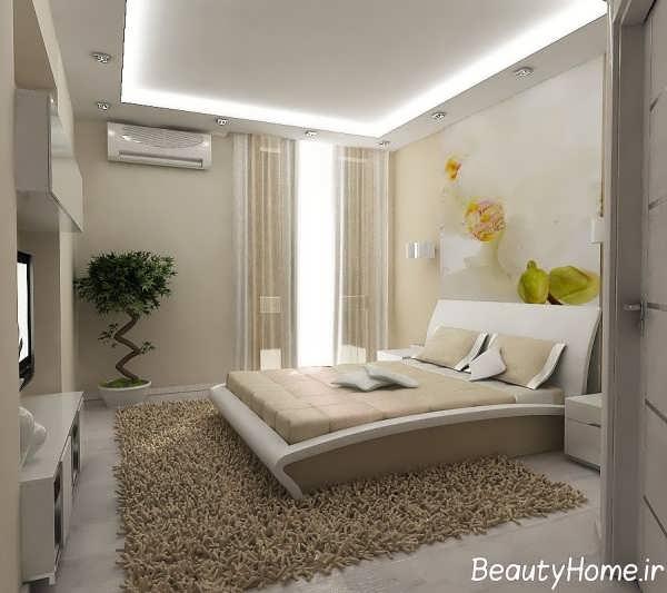 دکوراسیون زیبای اتاق خواب مستر