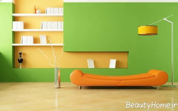 نشیمن سبز با دیزاین لاکچری
