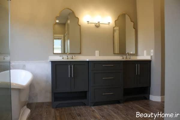 کابینت های زیبا سرویس بهداشتی