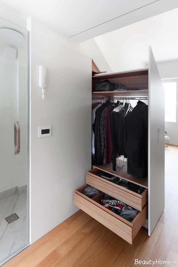 مدل کمد دیواری برای اتاق خواب
