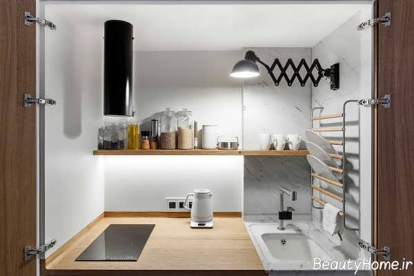 کمد دیواری برای آشپزخانه