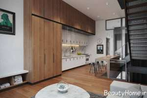 تزیین جذاب دیوار آشپزخانه
