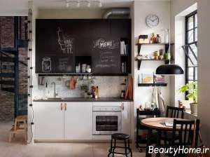تزیین جالب دیوار آشپزخانه