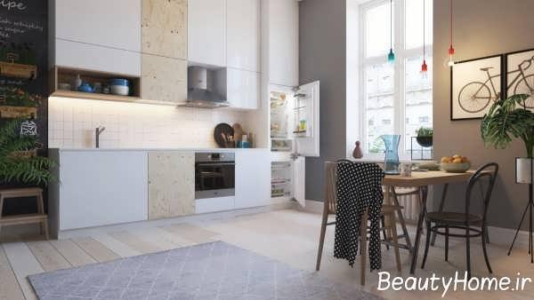 تزیین ایده آل دیوار آشپزخانه