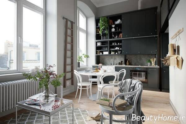 دکوراسیون متفاوت دیوار آشپزخانه