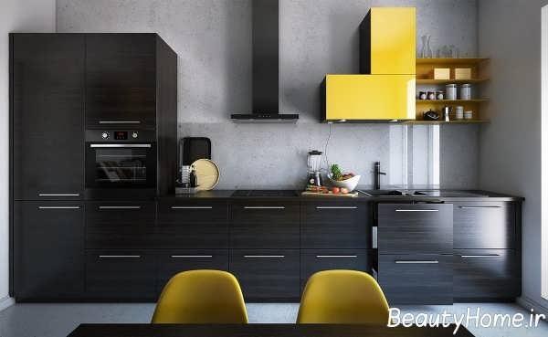 دکوراسیون فوق العاده دیوار آشپزخانه