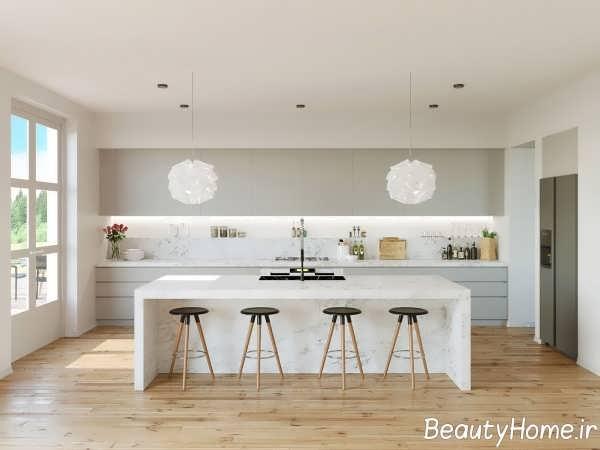 دکوراسیون مدرن دیوار آشپزخانه