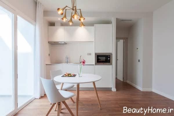 دیزاین زیبای دیوار آشپزخانه