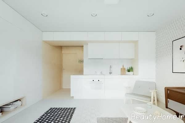 دیزاین متفاوت دیوار آشپزخانه