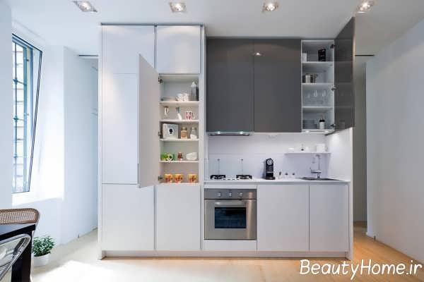 دیزاین جذاب دیوار آشپزخانه