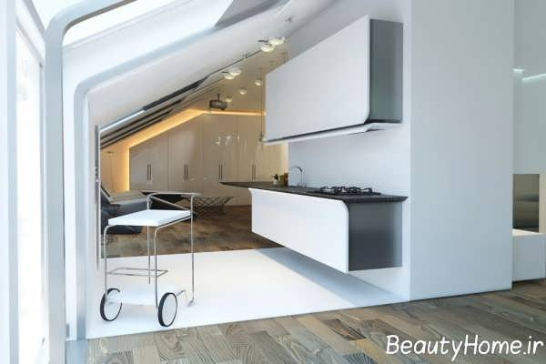 دیزاین مدرن دیوار آشپزخانه