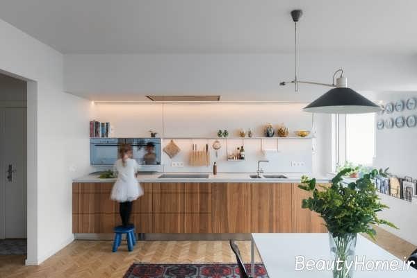 40 ایده جذاب برای چیدمان و تزیین دیوار آشپزخانه که
