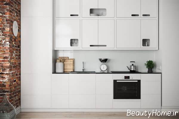 تزیین متفاوت دیوار آشپزخانه
