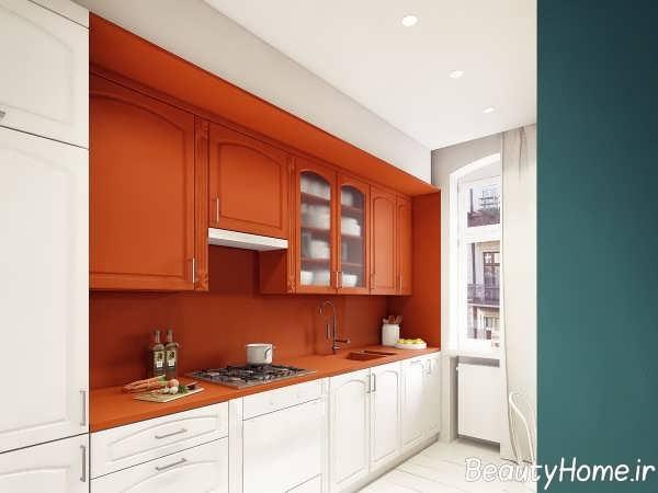 تزیین عالی دیوار آشپزخانه