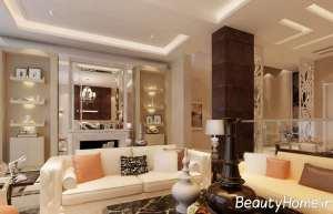 دیزاین ایده آل دیوار اتاق پذیرایی