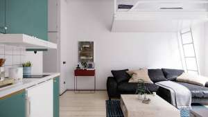 خانه های مدرن با متراژ کم