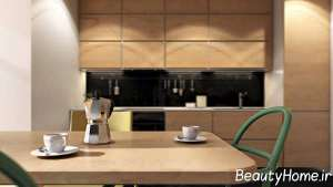 دیزاین شیک آشپزخانه