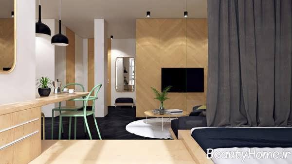 اتاق نشیمن با طراحی فوق العاده