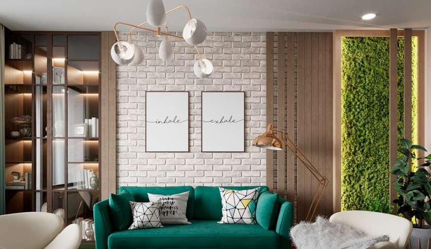 طراحی دکوراسیون داخلی منزل با گیاهان
