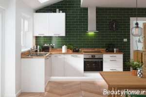 دکوراسیون آشپزخانه ال شکل