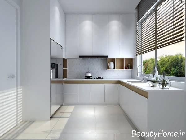 دکوراسیون متفاوت آشپزخانه ال شکل