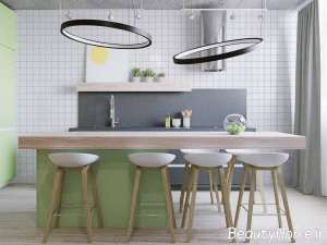 دکورسیون زیبا و خاص آشپزخانه