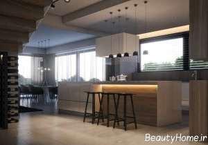 دکوراسیون شیک و جدید آشپزخانه
