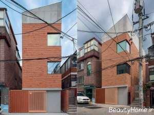 طراحی زیبای نمای ساختمان
