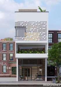 طراحی مناسب نمای ساختمان