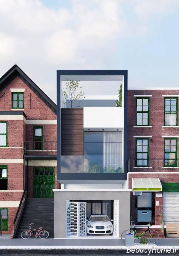 طراحی فوق العاده نمای ساختمان