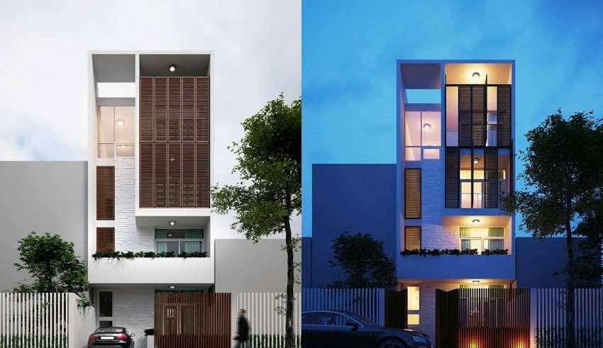 حاشیه کم در طراحی نمای ساختمان