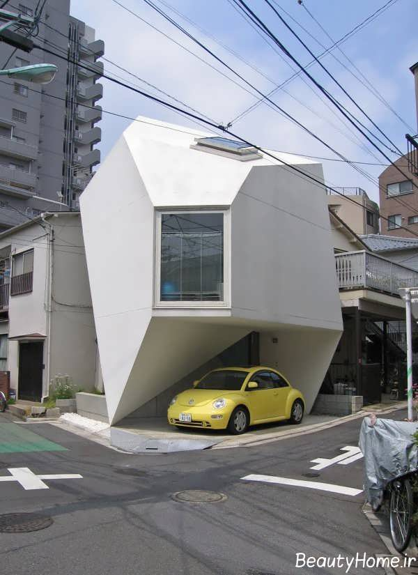 نمای متفاوت ساختمان با طراحی ایده آل
