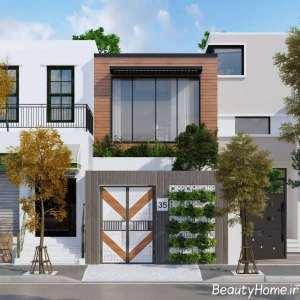 دیزاین جذاب نمای ساختمان