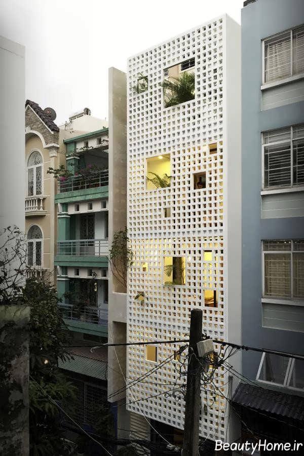 نمای ایده آل ساختمان