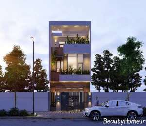 دیزاین نمای بیرونی ساختمان