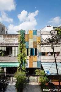 طراحی جالب نمای ساختمان