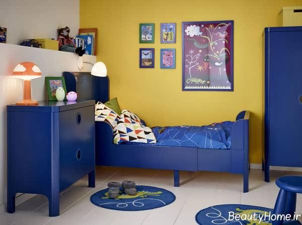 رنگ اتاق پسرانه