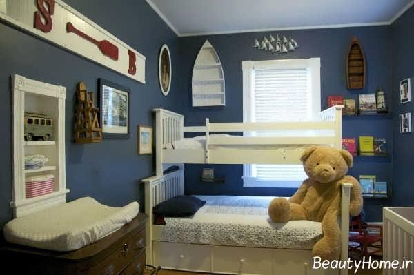 رنگ اتاق کودک