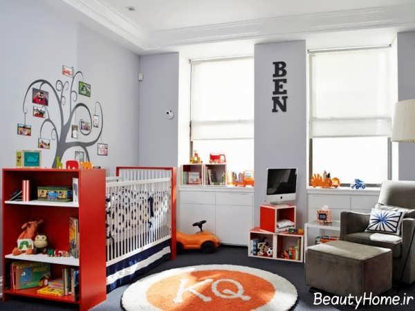 رنگ سفید برای اتاق پسرانه
