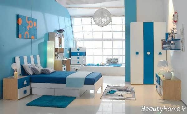راهنمای انتخاب رنگ اتاق پسرانه