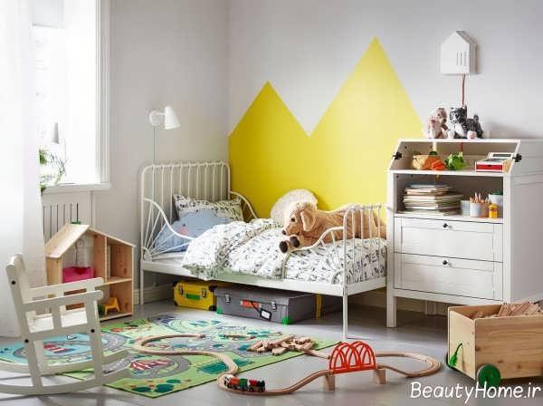 راهنمای انتخاب بهترین رنگ برای اتاق پسرانه
