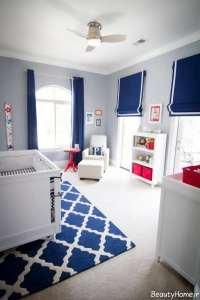 طراحی داخلی دکوراسیون اتاق خواب پسرانه