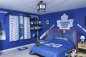 رنگ زیبا برای اتاق پسرانه