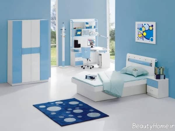 رنگ برای اتاق پسرانه