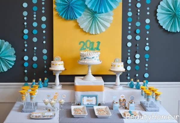 روش های خلاقانه برای تزیین میز تولد