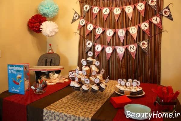 تزیینات خاص و ایده آل برای میز تولد