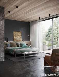 طراحی اتاق نشیمن با تم سیاه