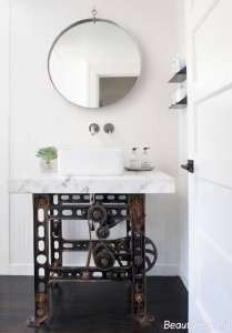 طراحی متفاوت حمام